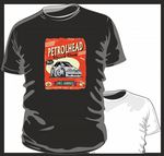 KOOLART PETROLHEAD SPEED SHOP Mk4 FORD ESCORT RS TURBO Childrens kids t-shirt BW